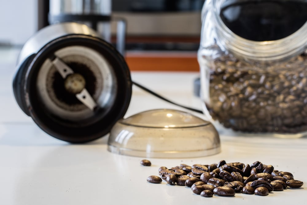 make delicious espresso by grinding your beans at home